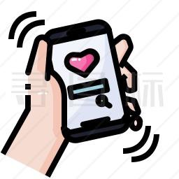 浪漫手机图标