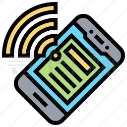 手机无线图标