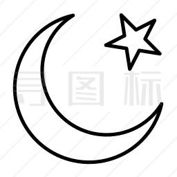 穆斯林图标