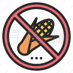 禁止玉米图标