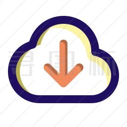 服务器下载图标
