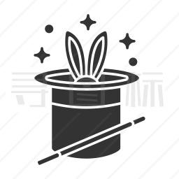 魔术帽图标
