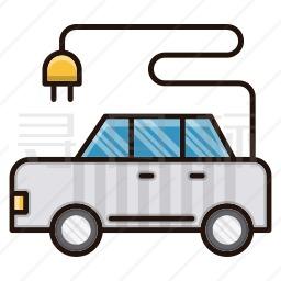 新能源汽车图标