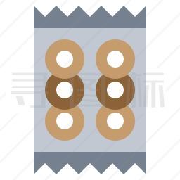 百吉饼图标