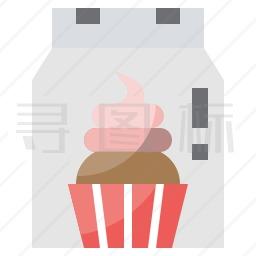 杯状小松糕图标
