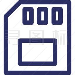 SD卡图标