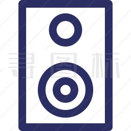 低音喇叭图标