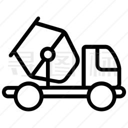 混凝土搅拌车图标