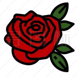 玫瑰图标 有svg Png Eps格式 寻图标