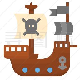 海盗船图标