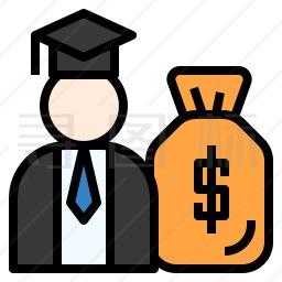 奖学金图标