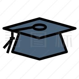 毕业帽图标