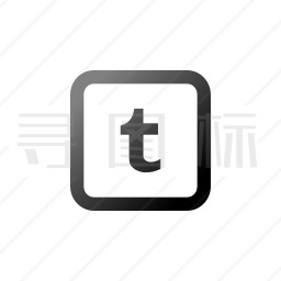 Tumblr图标