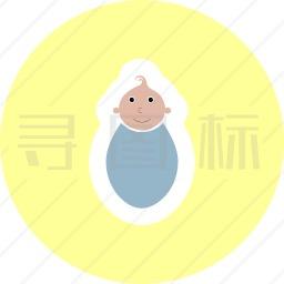 新生儿图标