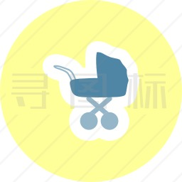 婴儿车图标