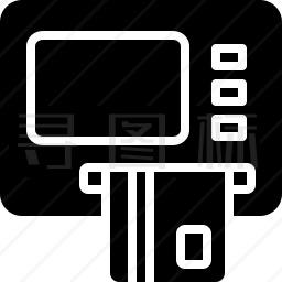 自动取款机图标