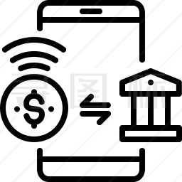 手机付款图标