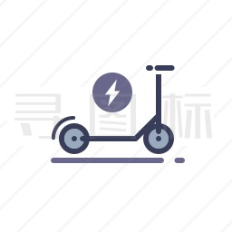 滑板车图标