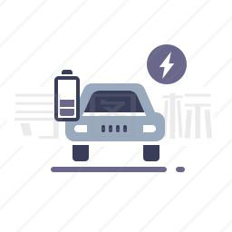 电动汽车图标