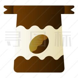 咖啡豆图标