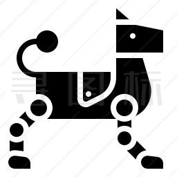 机器狗图标