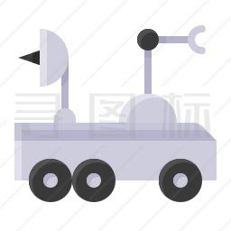 月球车图标