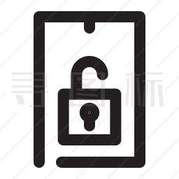 手机解锁图标