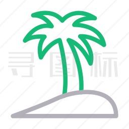 棕榈树图标