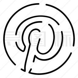 Pinterest图标