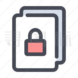 保密文件图标