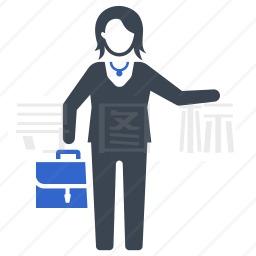 女商人图标