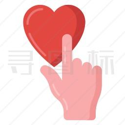 爱心图标 859个爱心图标icon图标批量下载 Png Eps Psd Ico Svg格式 寻图标