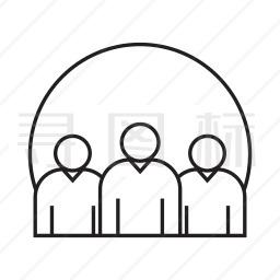 团队合作图标