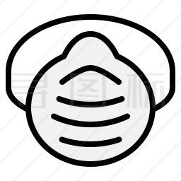 安全面罩图标