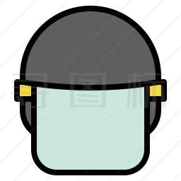警察头盔图标