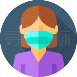 医用口罩图标