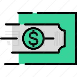 资金转移图标