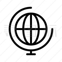 地球仪图标