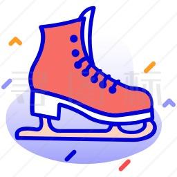 滑冰鞋图标