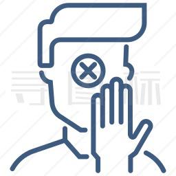 禁止触摸图标