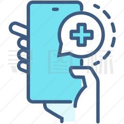 手机医疗图标