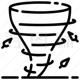 龙卷风图标