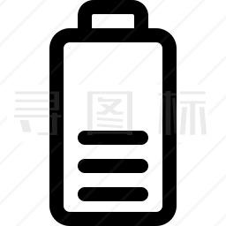 蓄电池图标