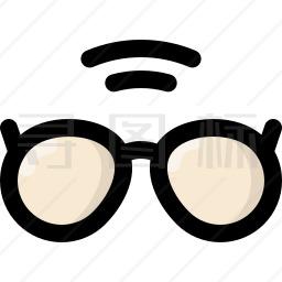 眼镜图标 个眼镜图标icon图标批量下载 Png Eps Psd Ico Svg格式 寻图标