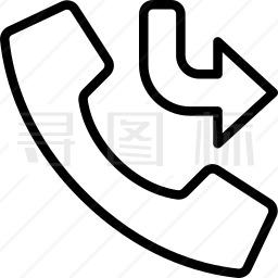 未接电话图标
