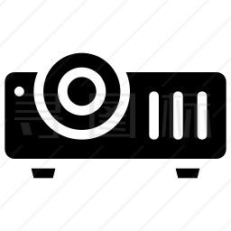 投影仪设备图标