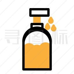 清洁剂图标