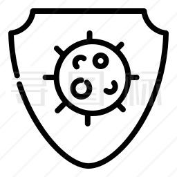 病毒防御图标
