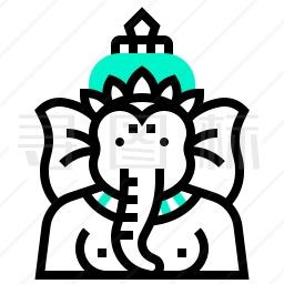 象头神图标