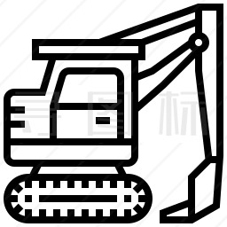 挖掘机图标